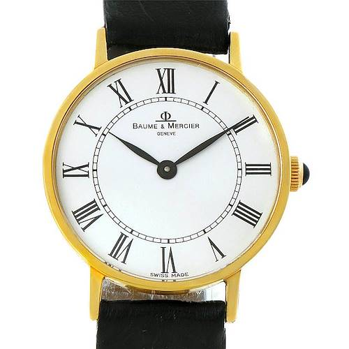 Photo of Baume Mercier Classima 14K Yellow Gold Mens Watch 55121