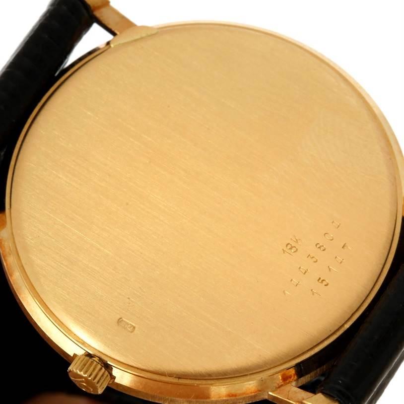 Baume Mercier Classima 18K Yellow Gold Quartz Watch SwissWatchExpo