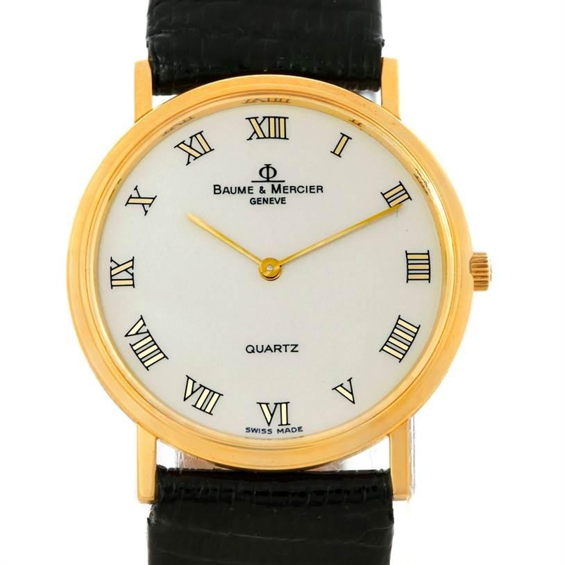 Photo of Baume Mercier Classima 18K Yellow Gold Quartz Watch