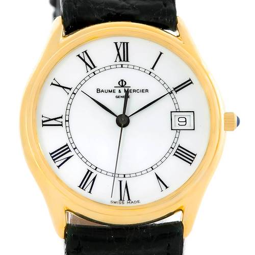 Photo of Baume Mercier Classima 14K Yellow Gold Mens Watch 95248