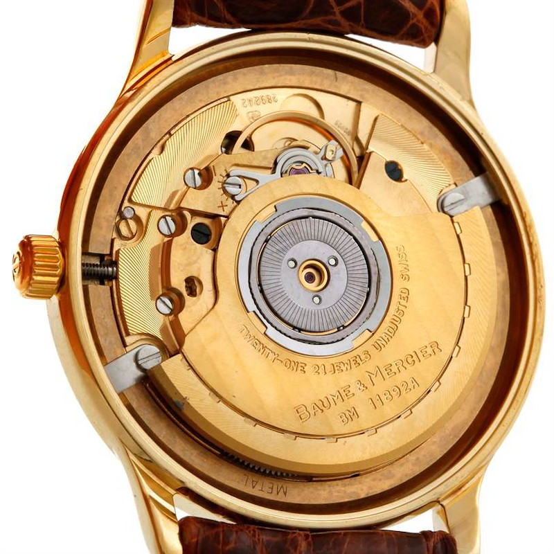 Baume Mercier Classima Automatic 18K Yellow Gold Watch MV045075 SwissWatchExpo