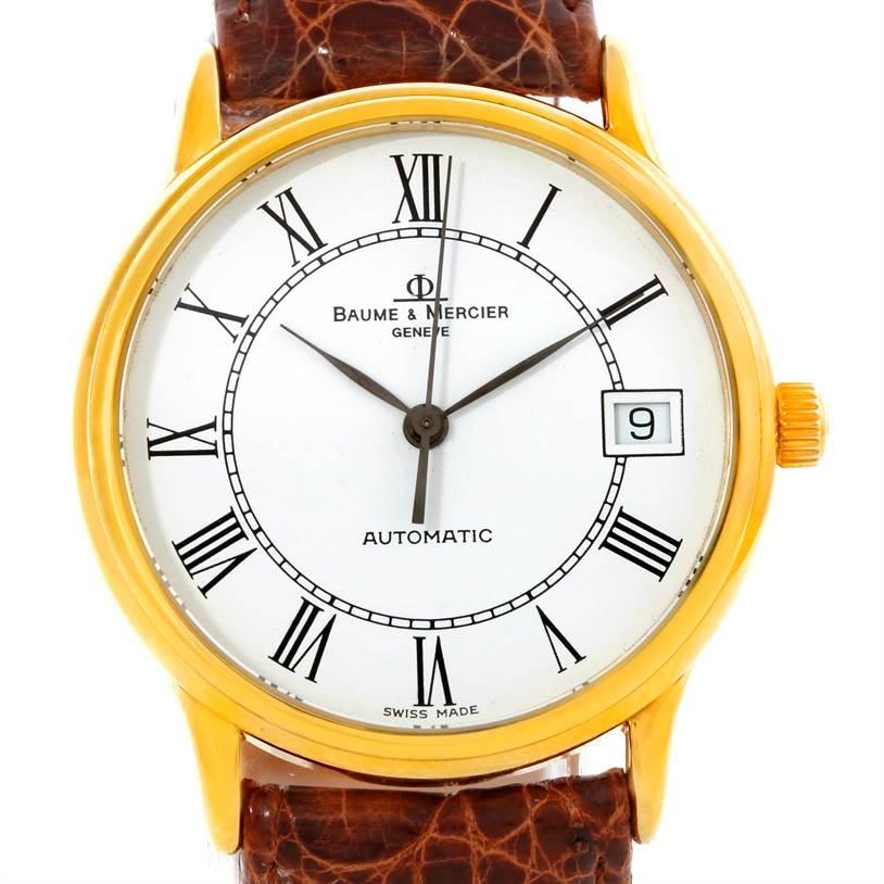 Photo of Baume Mercier Classima Automatic 18K Yellow Gold Watch MV045075