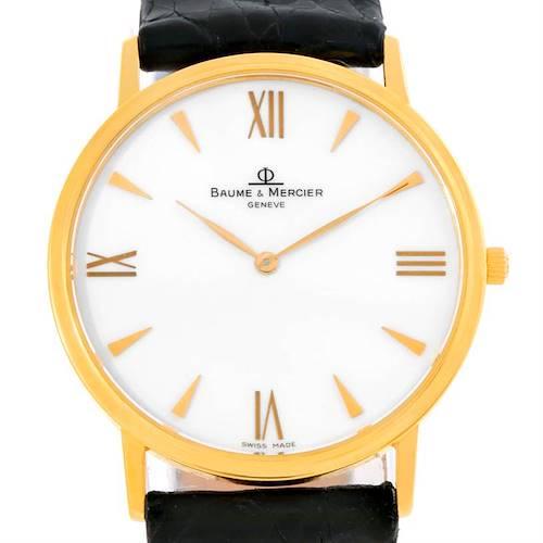 Photo of Baume Mercier Classima 1830 18K Yellow Gold Quartz Watch MV045088
