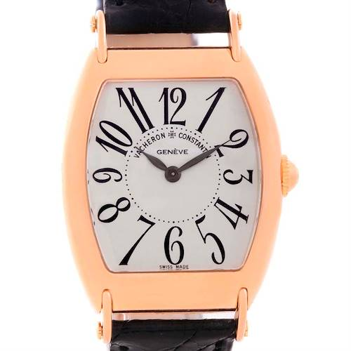 Photo of Vacheron Constantin Historique Rose Gold Limited Edition Watch 37001 Box Papers