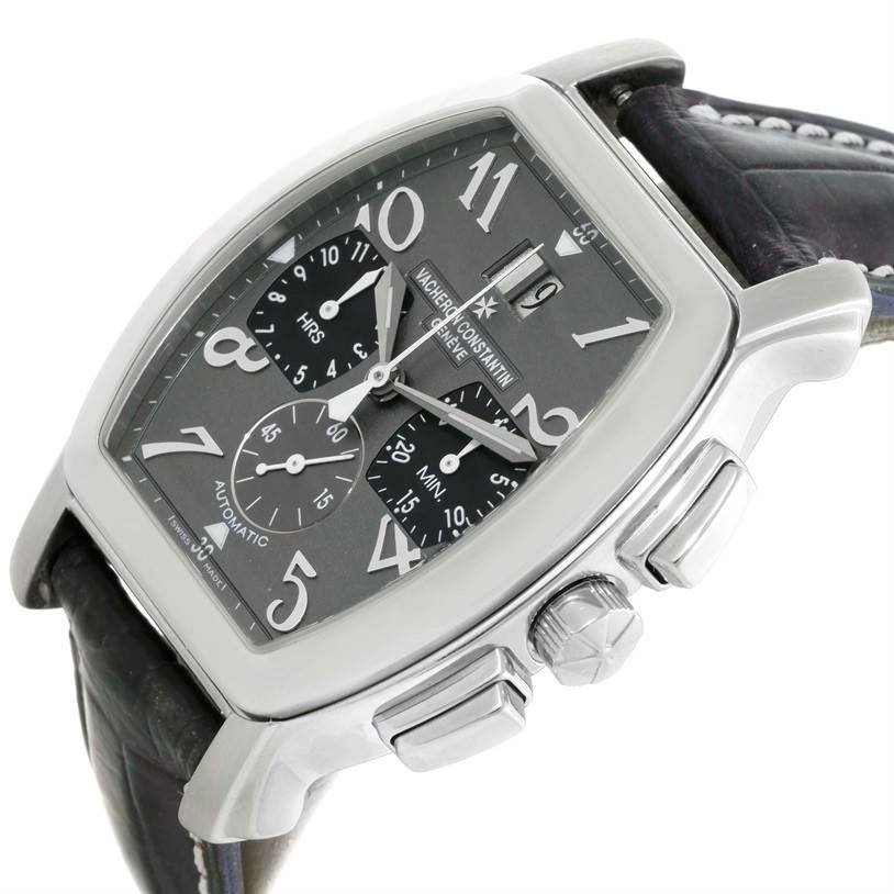 10148P Vacheron Constantin Historique Royal Eagle Grey Dial Watch 49145 SwissWatchExpo