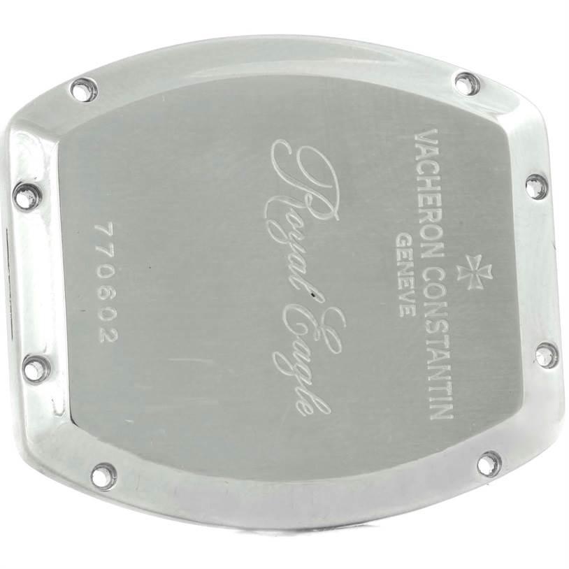 10147P Vacheron Constantin Historique Royal Eagle Silver Dial Watch 49145 SwissWatchExpo