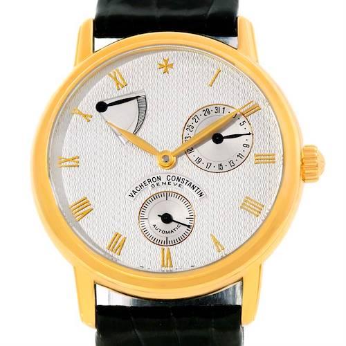 Photo of Vacheron Constantin Patrimony Date Power Reserve Gold Watch 47200/1