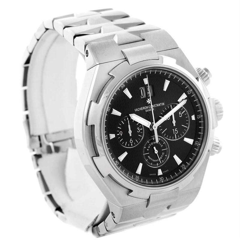 Vacheron Constantin Overseas Chronograph Black Dial Watch 49150 Unworn SwissWatchExpo