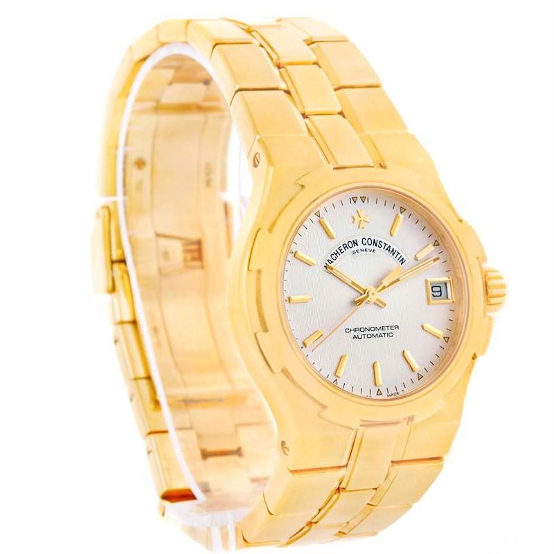 Vacheron Constantin Overseas 18K Yellow Gold Watch 42050/423J SwissWatchExpo
