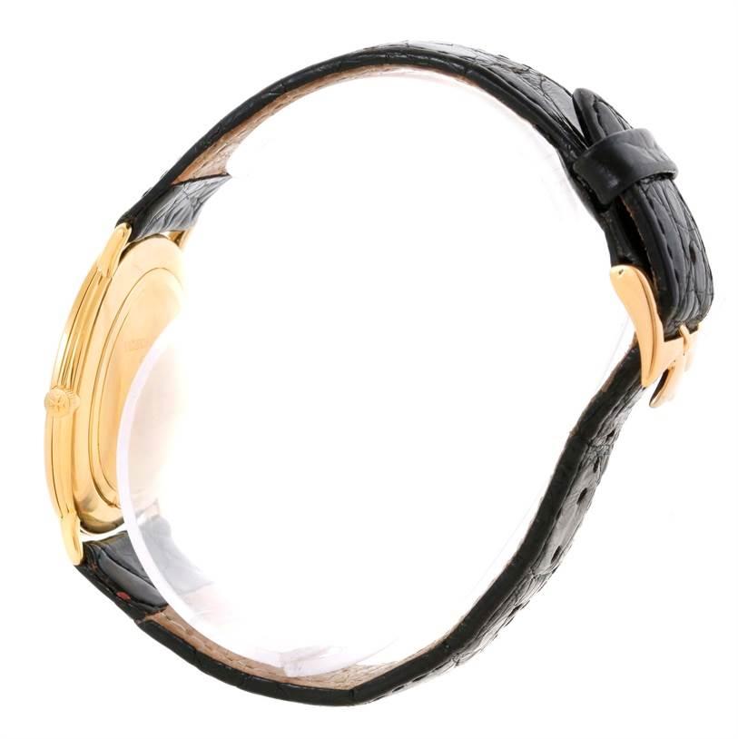 10601 Vacheron Constantin 18K Yellow Gold Ultra Thin Mechanical Watch 33160 SwissWatchExpo