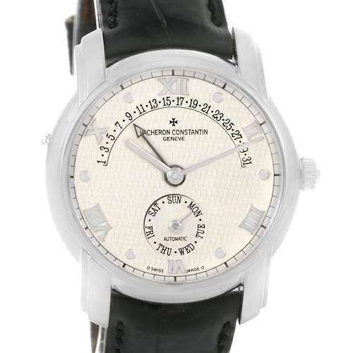 Photo of Vacheron Constantin Patrimony 31 Day Retrograde White Gold Watch 47245