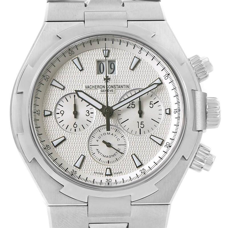 Vacheron Constantin Overseas Chronograph Steel Mens Watch 49150 Unworn SwissWatchExpo