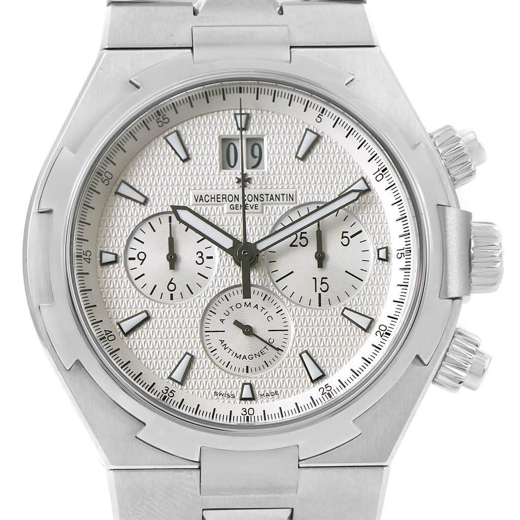 13994P Vacheron Constantin Overseas Chronograph Steel Mens Watch 49150 Unworn SwissWatchExpo