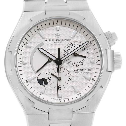 Photo of Vacheron Constantin Overseas Dual Time Silver Dial Mens Watch 47450