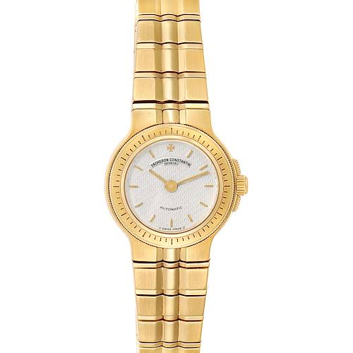 Photo of Vacheron Constantin Phidias 18k Yellow Gold Silver Dial Ladies Watch