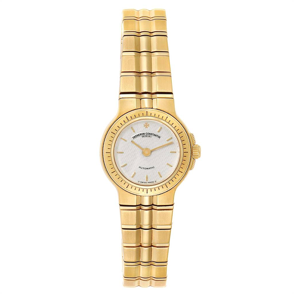 Vacheron Constantin Phidias 18k Yellow Gold Silver Dial Ladies Watch SwissWatchExpo