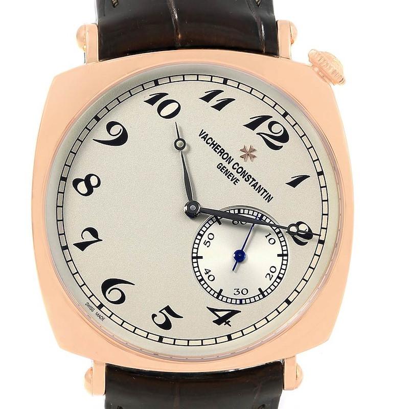 Vacheron Constantin Historiques American Rose Gold Mens Watch 82035 SwissWatchExpo