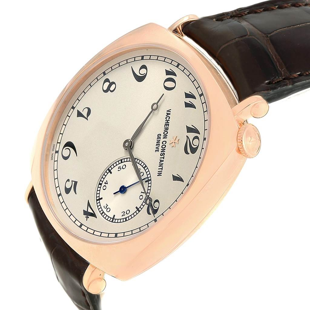 17716P Vacheron Constantin Historiques American Rose Gold Mens Watch 82035 SwissWatchExpo