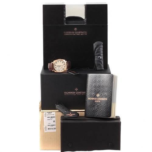 Vacheron Constantin Historiques American Rose Gold Watch 82035 Box Papers SwissWatchExpo