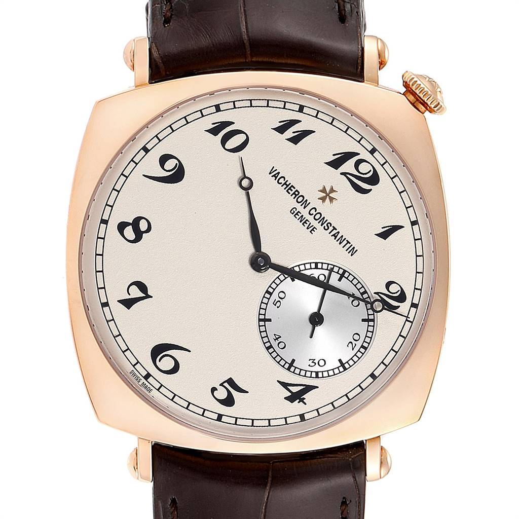 17716P Vacheron Constantin Historiques American Rose Gold Watch 82035 Box Papers SwissWatchExpo