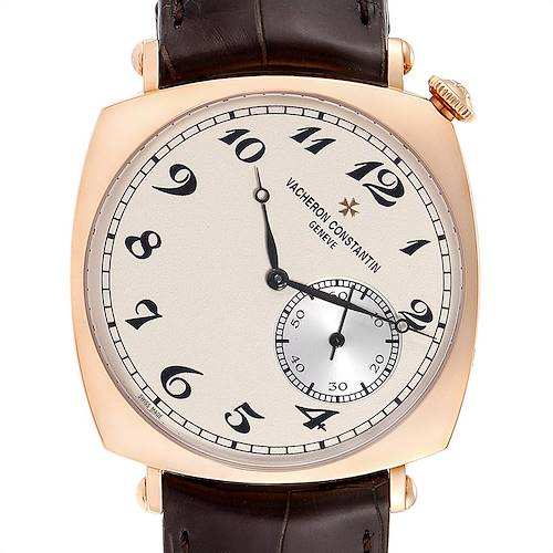 Photo of Vacheron Constantin Historiques American Rose Gold Watch 82035 Box Papers