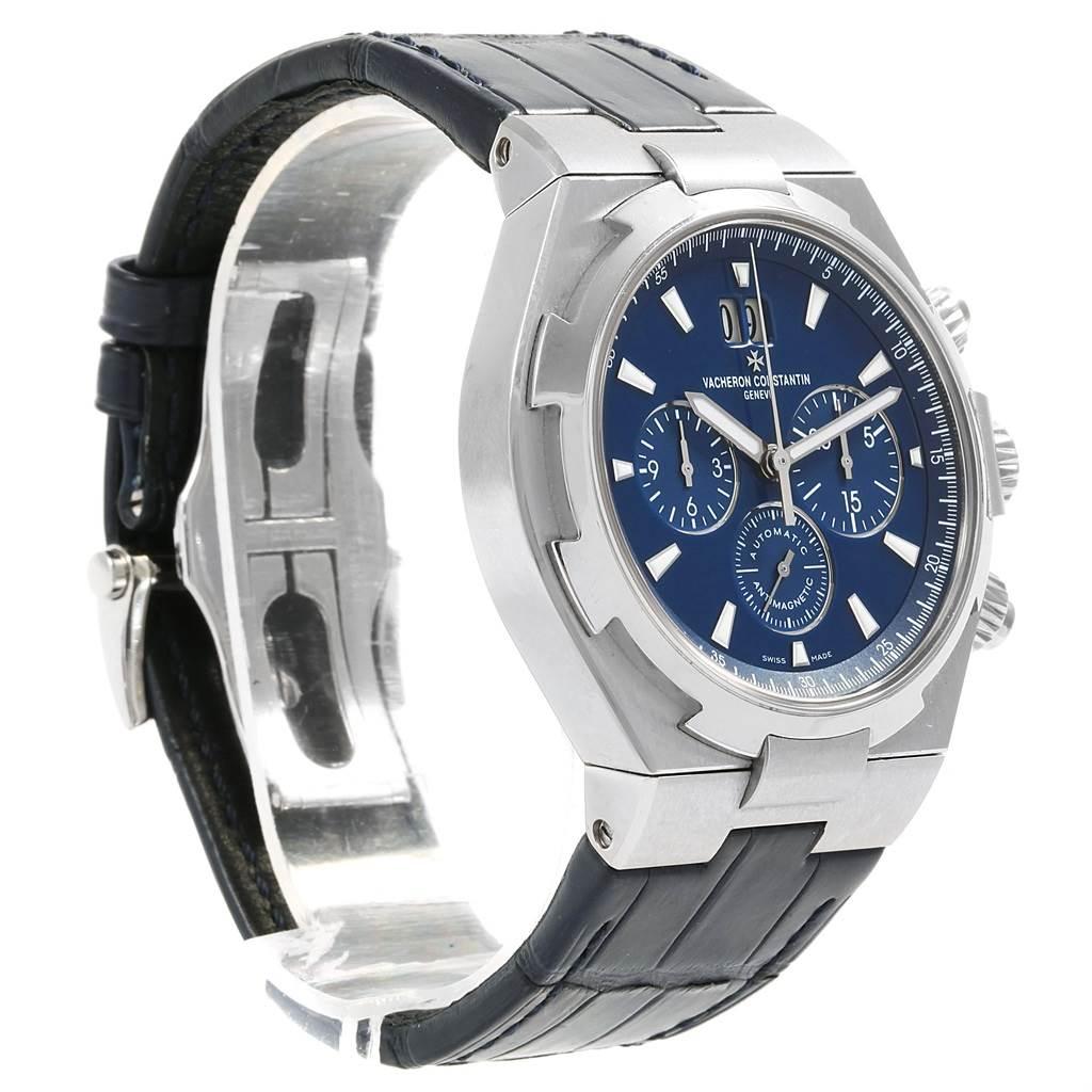 Vacheron Constantin Overseas Chronograph Blue Dial Watch 49150 SwissWatchExpo