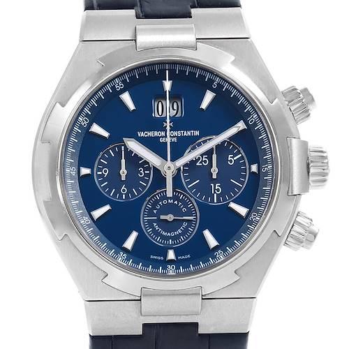 Photo of Vacheron Constantin Overseas Chronograph Blue Dial Watch 49150