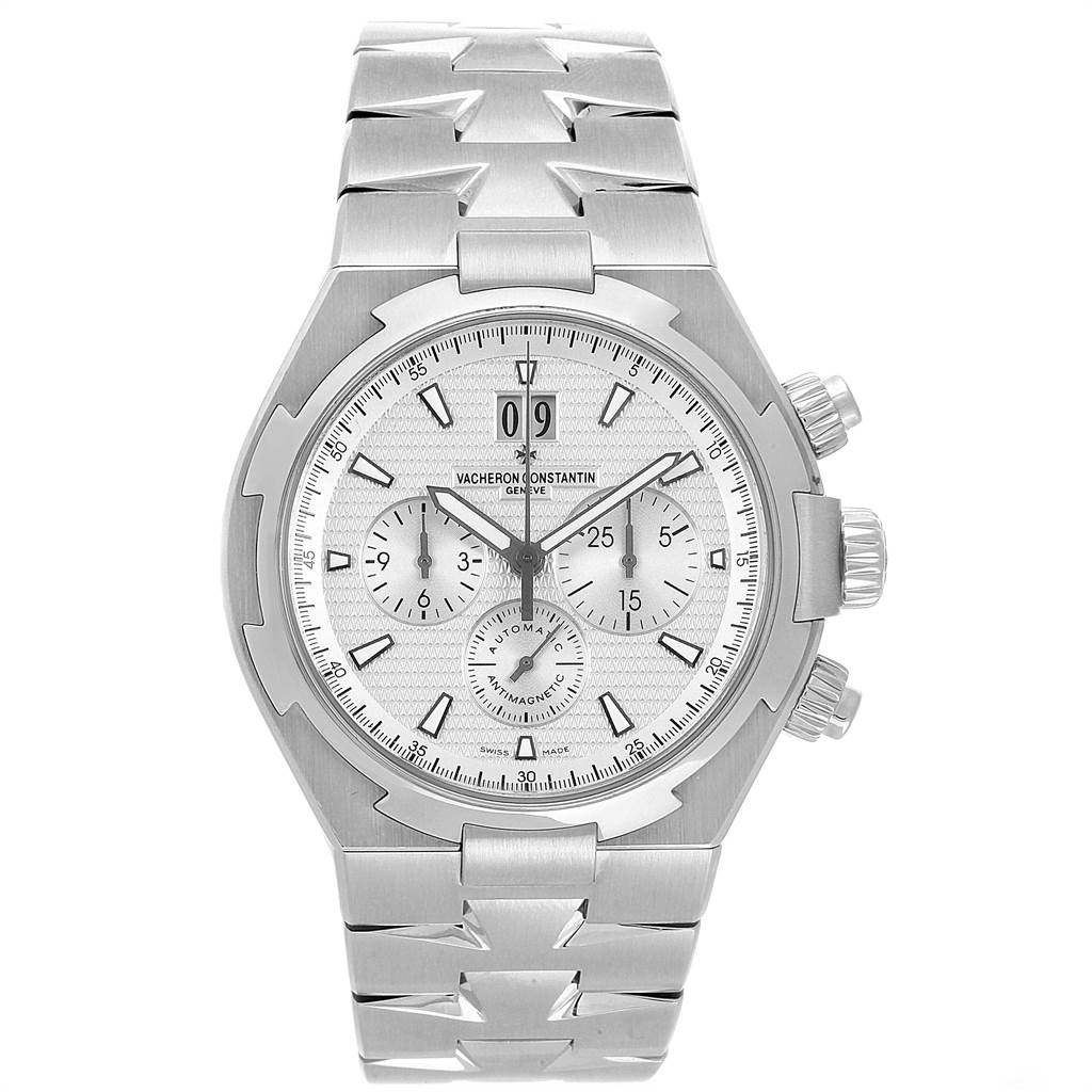 Vacheron Constantin Overseas Chronograph Mens Watch 49150 Box Papers SwissWatchExpo