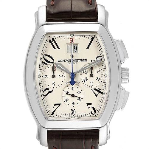 Photo of Vacheron Constantin Royal Eagle Chronograph Silver Dial Mens Watch 49145