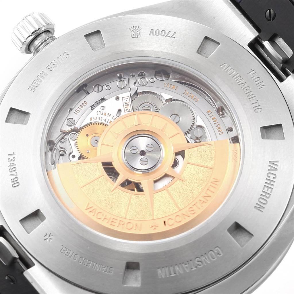 22582 Vacheron Constantin Overseas Worldtime 43.5mm Steel Mens Watch 7700V SwissWatchExpo