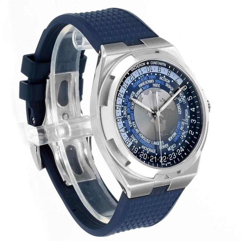 Vacheron Constantin Overseas Worldtime 43.5mm Steel Mens Watch 7700V SwissWatchExpo