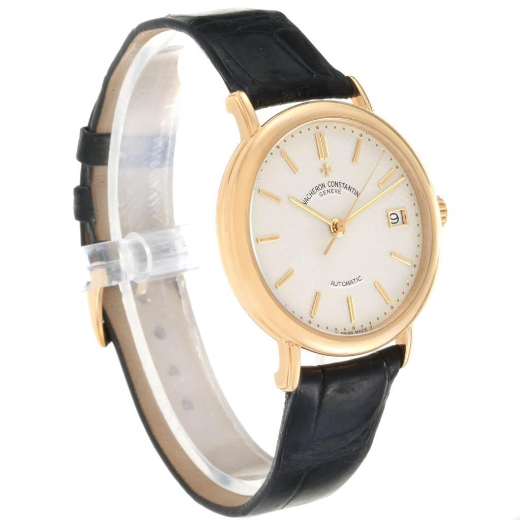 Vacheron Constantin Les Essentielles L'Anglaise Yellow Gold Watch 47002 SwissWatchExpo