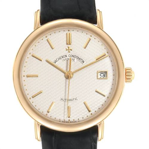Photo of Vacheron Constantin Les Essentielles L'Anglaise Yellow Gold Watch 47002