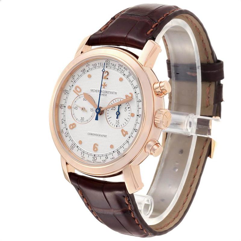 Vacheron Constantin Malte Rose Gold Manual Chronograph Mens Watch 47120 SwissWatchExpo