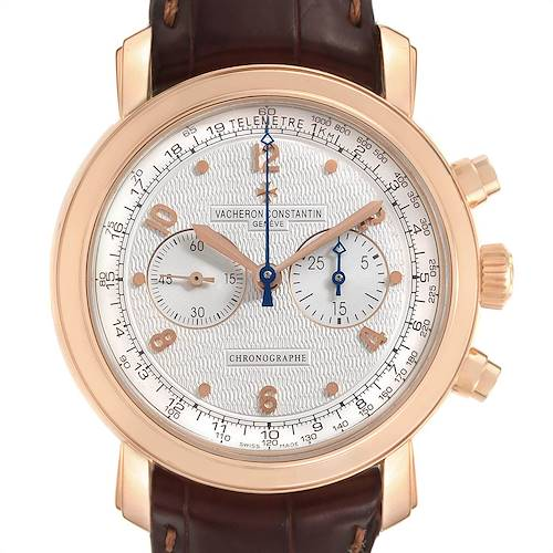 Photo of Vacheron Constantin Malte Rose Gold Manual Chronograph Mens Watch 47120