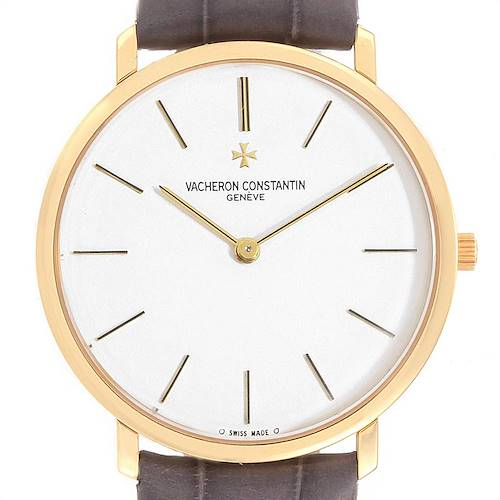 Photo of Vacheron Constantin Patrimony Yellow Gold Ultra Thin Mens Watch 31160