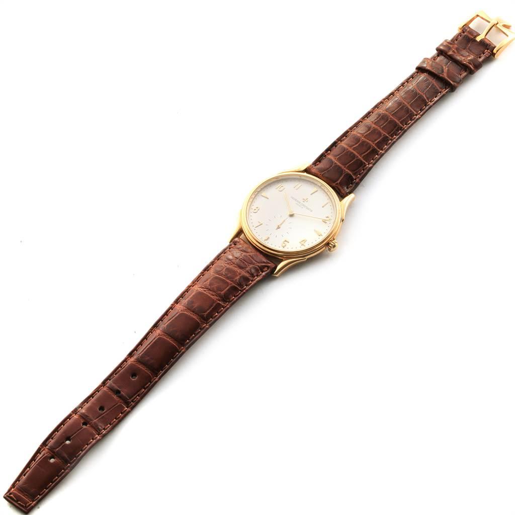 Vacheron Constantin Historique 33mm Yellow Gold Mens Watch 92239 SwissWatchExpo