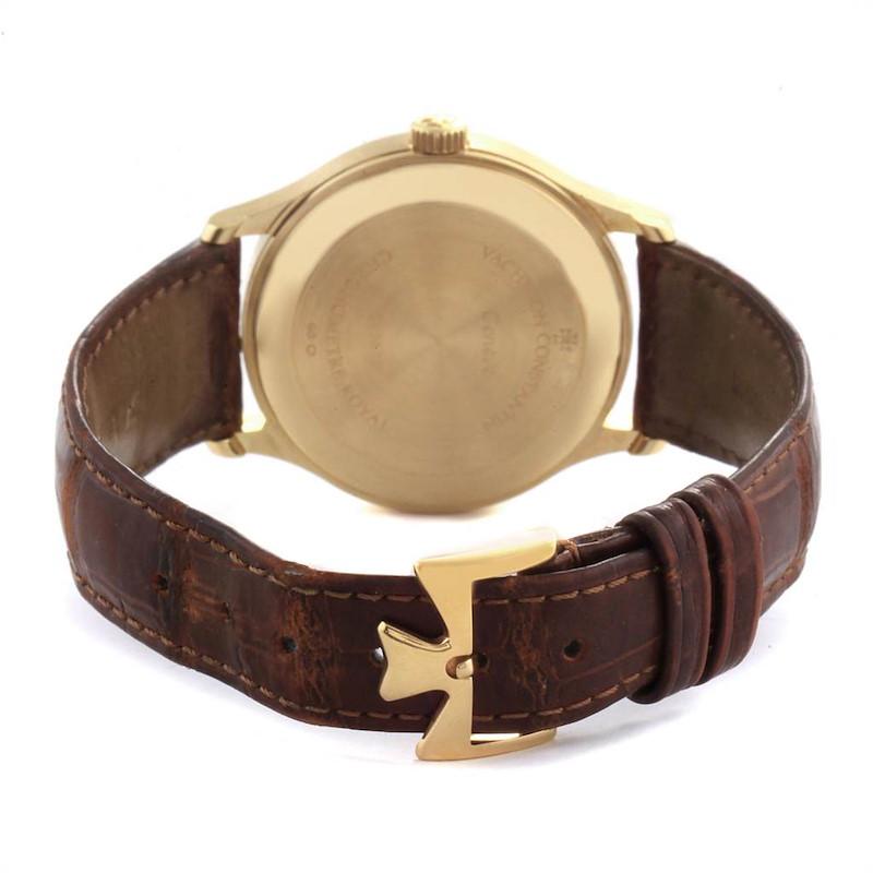 Vacheron Constantin Patrimony Chronometer Royal Yellow Gold Watch 47022 SwissWatchExpo
