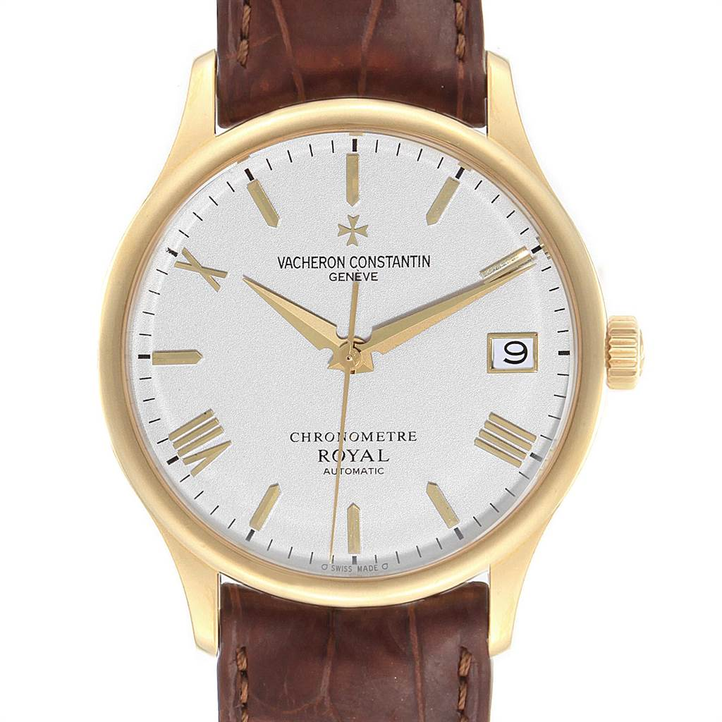 Vacheron Constantin Patrimony Chronometer Royal Yellow Gold Watch 47022 SwissWatchExpo