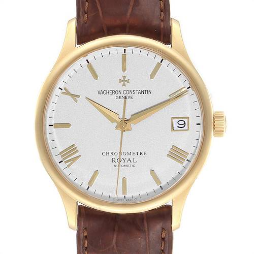 Vacheron Constantin Patrimony Chronometer Royal Yellow Gold Watch 47022