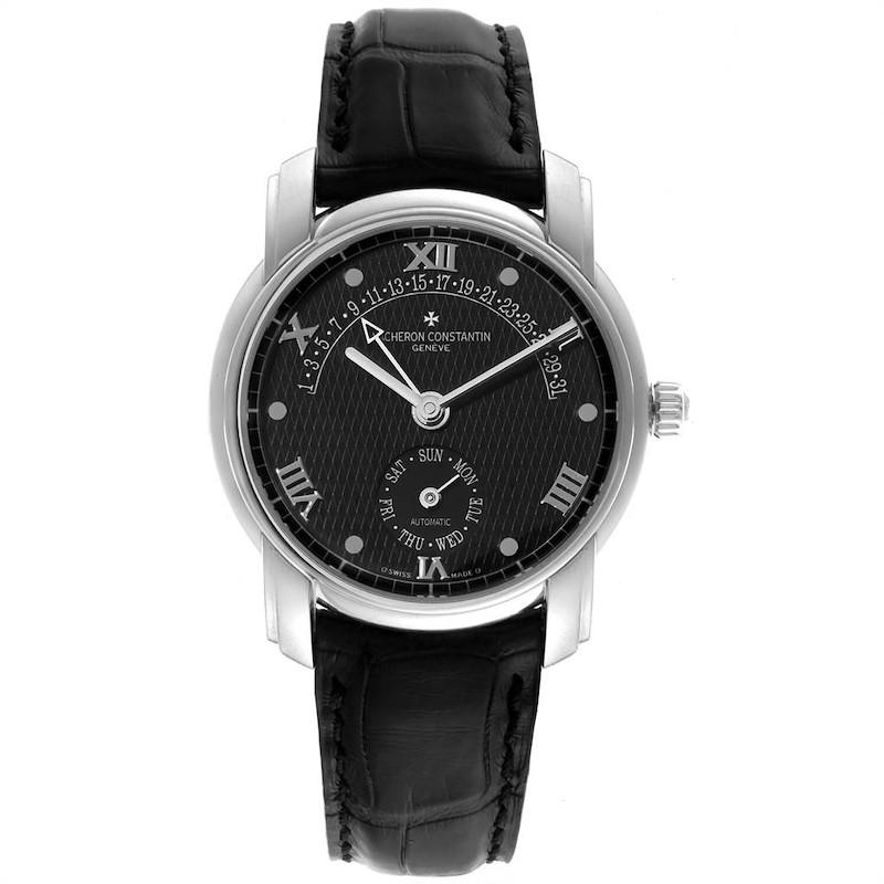 Vacheron Constantin Patrimony 31 Day Retrograde Platinum Watch 47245 SwissWatchExpo