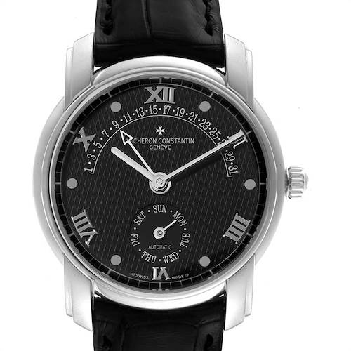 Photo of Vacheron Constantin Patrimony 31 Day Retrograde Platinum Watch 47245
