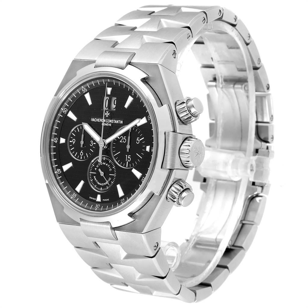 Vacheron Constantin Overseas Chronograph Black Dial Watch 49150 SwissWatchExpo