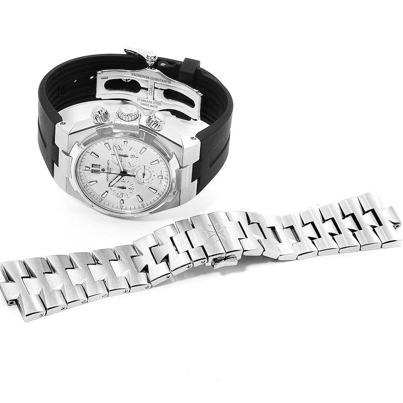 Vacheron Constantin Overseas Chronograph Mens Watch 49150 Box Card SwissWatchExpo