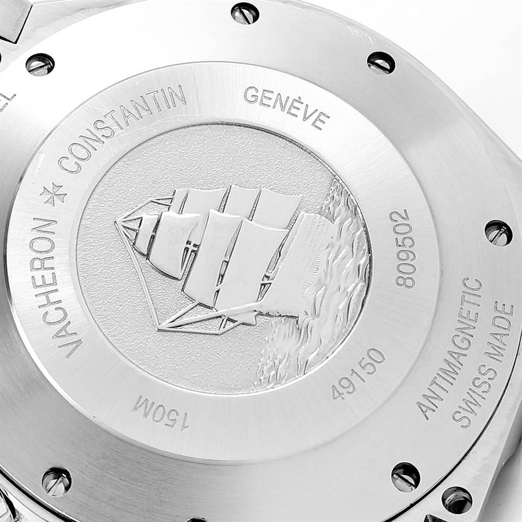 Vacheron Constantin Overseas Chronograph Watch 49150 Box Papers SwissWatchExpo