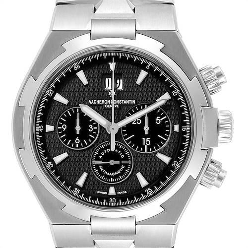 Photo of Vacheron Constantin Overseas Chronograph Watch 49150 Box Papers