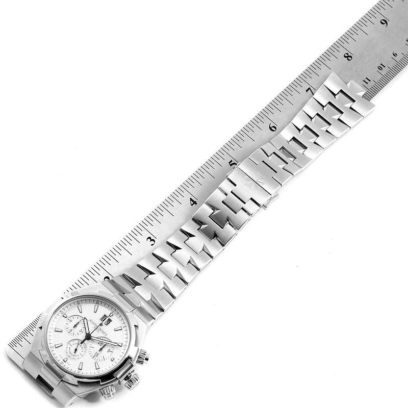 Vacheron Constantin Overseas Chronograph Silver Dial Mens Watch 49150 SwissWatchExpo