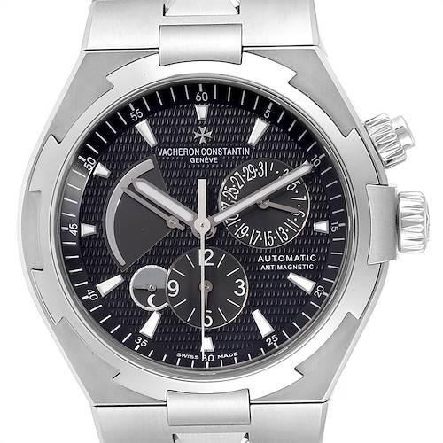Photo of Vacheron Constantin Overseas Dual Time Black Dial Mens Watch 47450