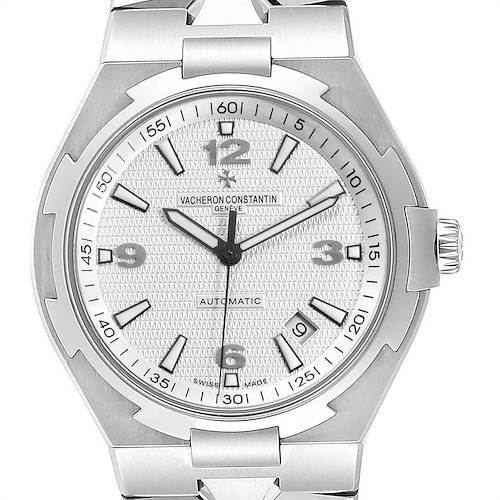 Photo of Vacheron Constantin Overseas Silver Dial Steel Mens Watch 47040