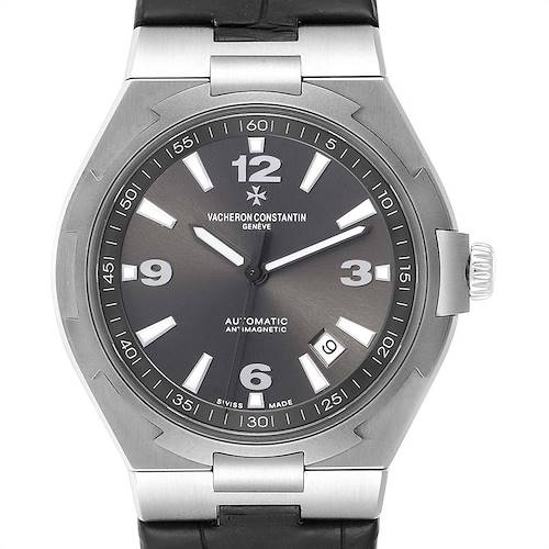 Photo of Vacheron Constantin Overseas Deep Stream Grey Dial Steel Mens Watch 47040